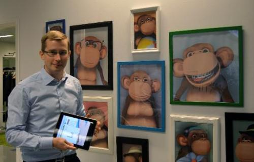 Arttu Laasonen, co-founder of Finnish start-up 10monkeys—which aims to make maths more fun for primary school pupils with its sm