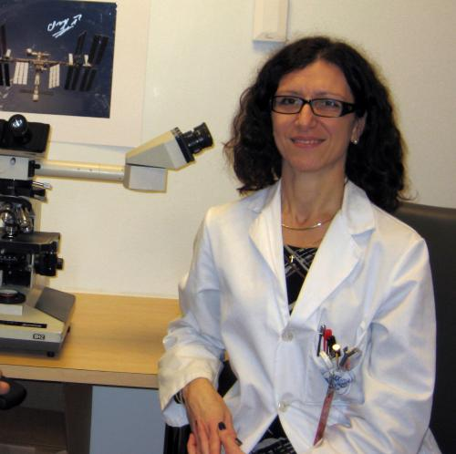 Associate Professor Paola Divieti-Pajevic of Massachusetts General Hospital. Image: NASA
