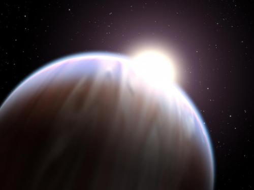Astronomers looking for clues to water's origins