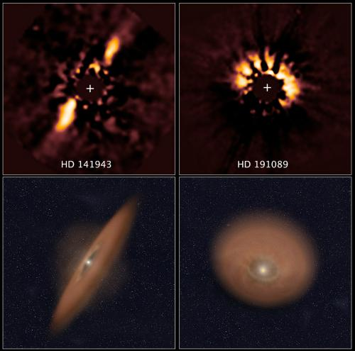 Astronomical forensics uncover planetary disks in Hubble archive
