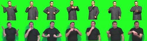 Avatars make the Internet sign to deaf people