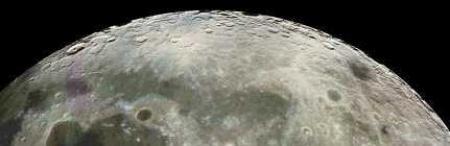 A wet moon