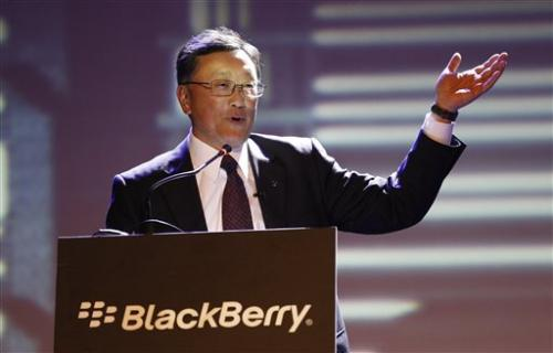 BlackBerry results top  expectations