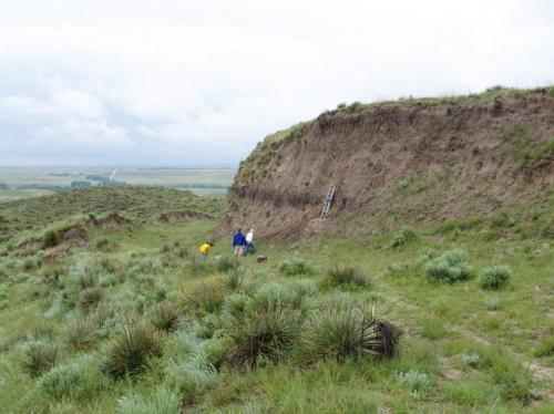 Buried fossil soils found to be awash in carbon