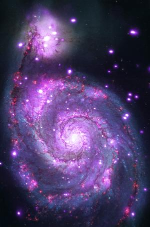 Chandra captures galaxy sparkling in X-rays