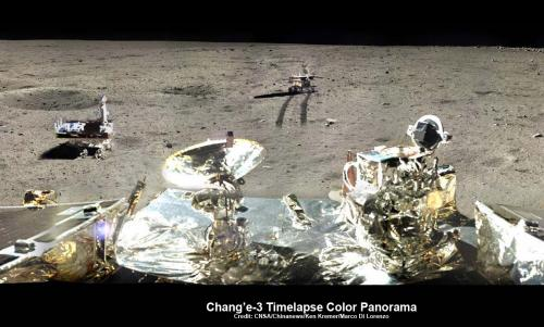China's yutu moon rover unable to properly maneuver solar panels
