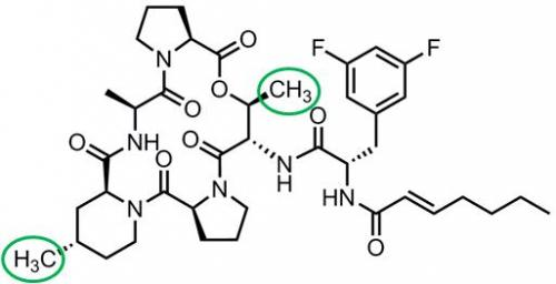 Clever chemistry improves a new class of antibiotics