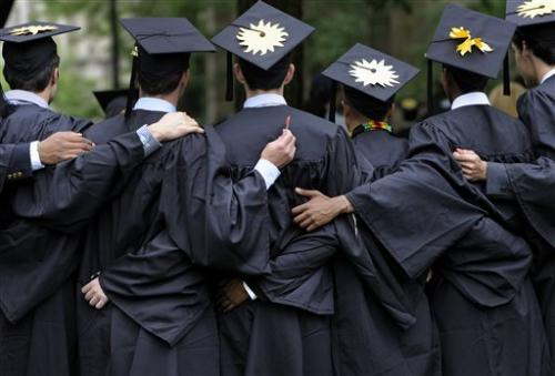 College graduation: Four ways things have changed