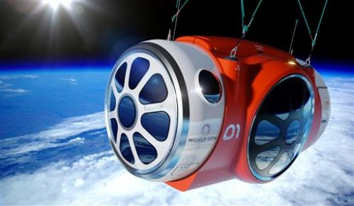 Company successfully tests space-tourism balloon (Update)