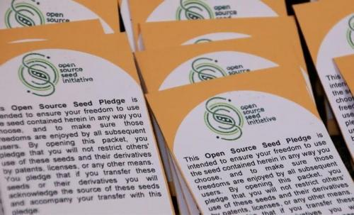 Counter crop patents by freeing seeds to feed the world