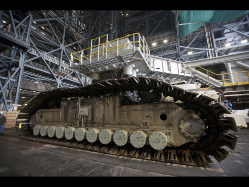 Crawler-transporter passes milestone test at NASA's Kennedy Space Center