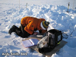 Custom-designed radar measures Antarctic ice with millimetre accuracy