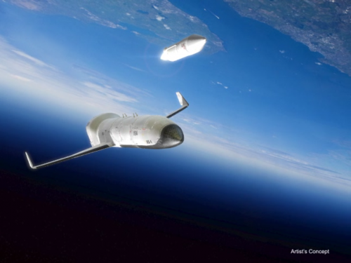 DARPA's experimental space plane XS-1 starts development