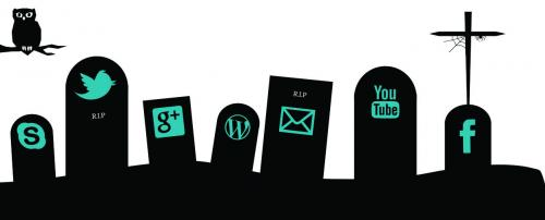 Death in the digital age -  what happens to our status updates and selfies after we've gone?
