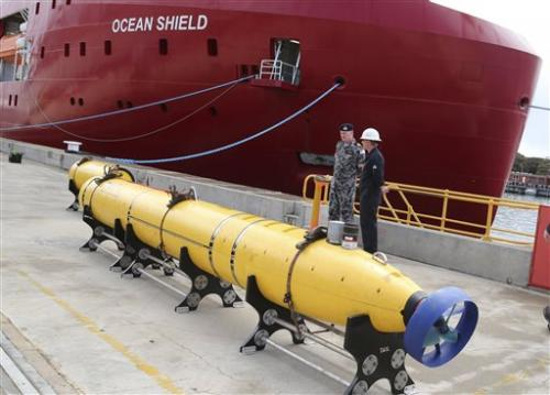 Deep water search for jet could turn on robot subs