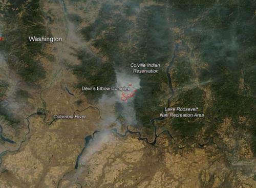 Devil's Elbow Complex in Washington state