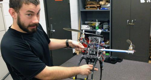 Don't fear the dawn of the drones; someday 1 might save your life, thanks to UC research