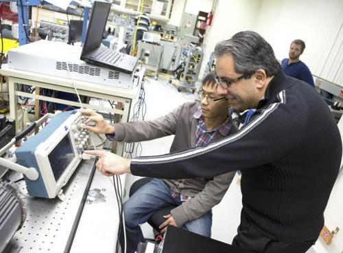 Eliminating rare metals in electric motors: Lab shows powerful, possible next step at summit