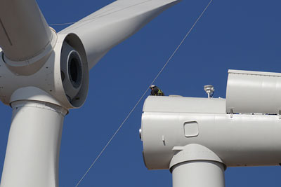Engineers recall five-year planning for nation's largest federally owned wind project