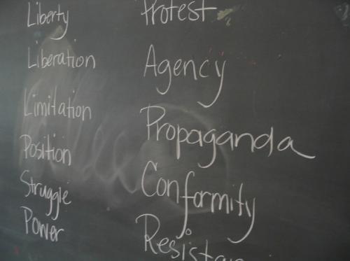 Faculty research explores social justice, democracy through the arts