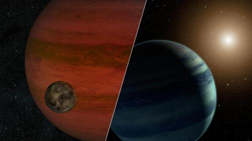 Faraway moon or faint star? Possible exomoon found