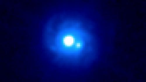Fermi observatory makes first gamma-ray study of a gravitational lens