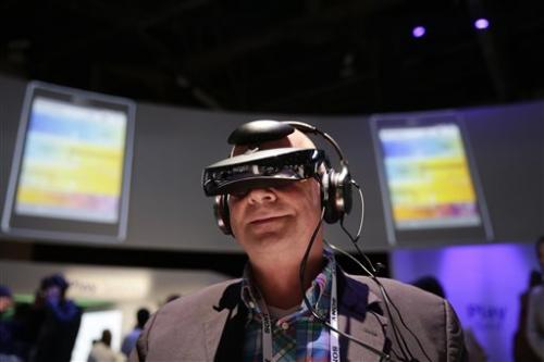 Gadget Watch: Look around in Sony's video headset