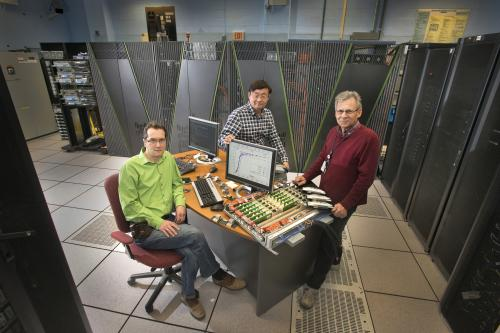 Generations of supercomputers pin down primordial plasma