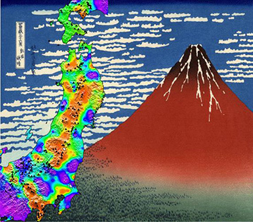 Giant earthquakes help predict volcanic eruptions