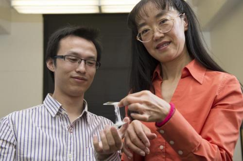 Gummy material addresses safety concerns of lithium ion batteries