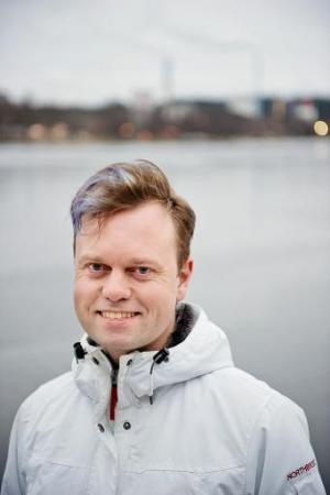 Henrik Johansson, Environmental Coordinator of Vaexjoe Municipality, pictured January 15, 2014