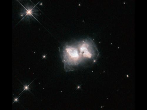 Hubble nets an interstellar butterfly