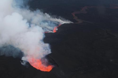 Icelandic volcano sits on massive magma hot spot