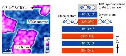 Identifying complex growth process of strontium titanate thin films