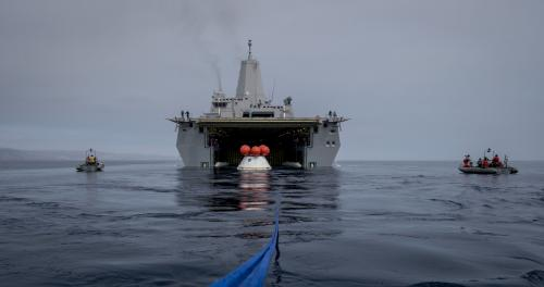 Image: Recovery tests underway for NASA's Orion spacecraft