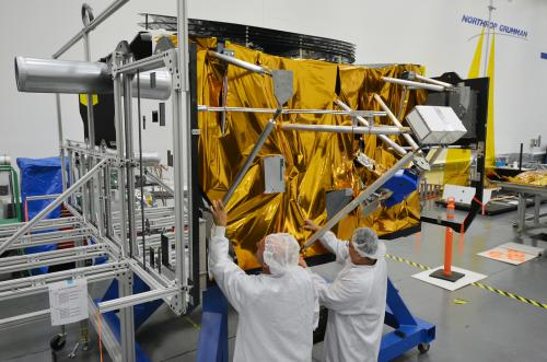 Image: Testing the electrical power subsystem of NASA's James Webb Space Telescope