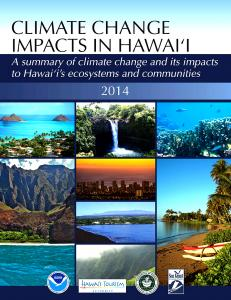 Is Hawaii prepared for the impacts of climate change?