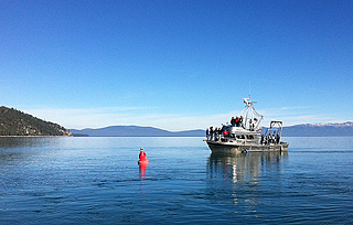 Lake Tahoe's long-term clarity trending toward stability