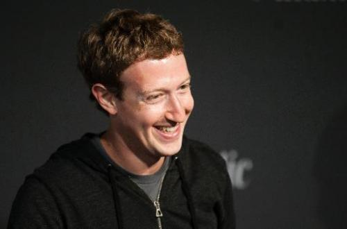 Mark Zuckerberg speaks during an interview session with The Atlantic at the Newseum in Washington, DC, in this September 18, 201