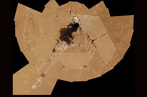 Mars rover, slightly used, runs fine