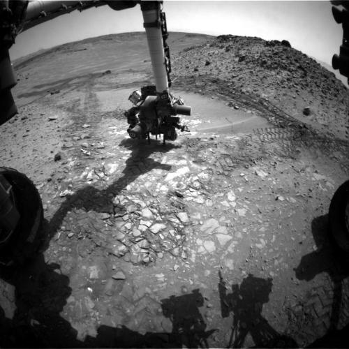 Mars Rover Team Chooses Not to Drill 'Bonanza King'