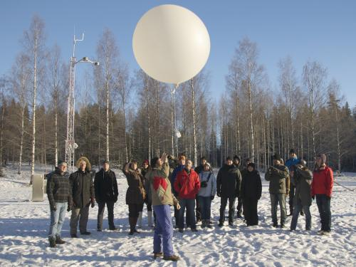 Mobile climate station heads to Finland