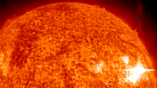 NASA MESSENGER and STEREO measurements open new window into high-energy processes on the sun