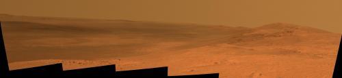 NASA Rover Gains Martian Vista From Ridgeline