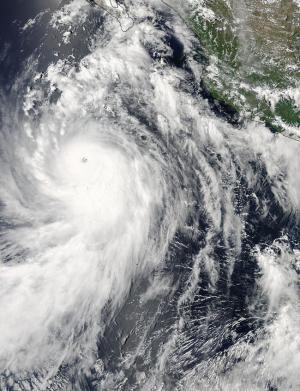 NASA sees Marie become a major hurricane, causing dangerous surf