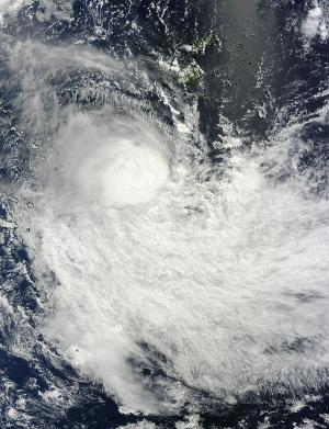 NASA sees wind shear affecting Tropical Cyclone Lusi