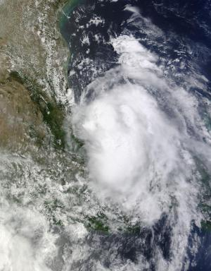 NASA's HS3 hurricane mission and Terra satellite take on Tropical Storm Dolly