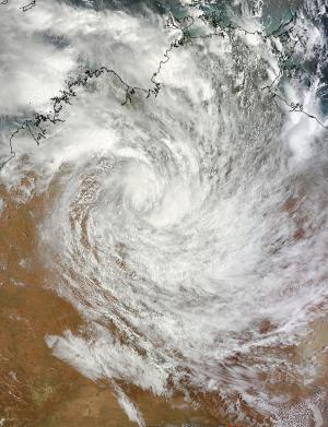 NASA tracks soggy System 94S over Western Australia