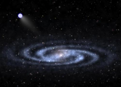 Nearest bright 'hypervelocity star' found