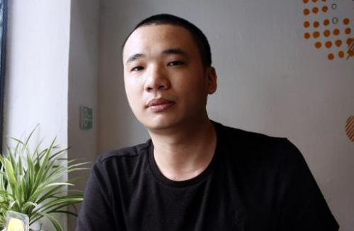 Nguyen Ha Dong, creator of the game Flappy Bird, is pictured in Hanoi on February 5, 2014